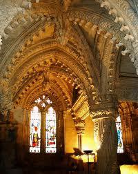 rosslyn chapel inside
