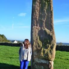 Record Keeper of Long Meg Stone Circle and Chandra
