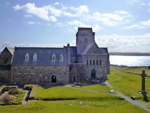 mystical Iona Abbey