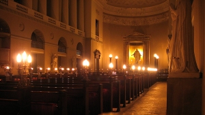 Copenhagen-Cathedral----at-Night