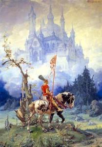 Monsalvat Castle Grail legend