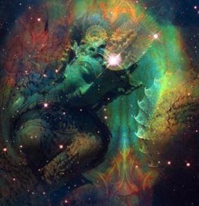 Cosmic Green Tara