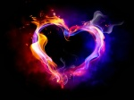 God is Love_fiery heart_Jesusjpg
