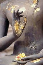 Buddha om lotus